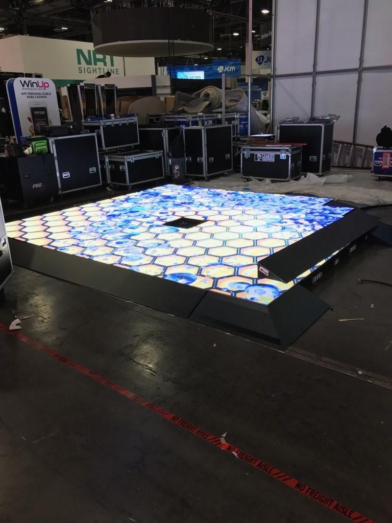 LED Floor Assembly